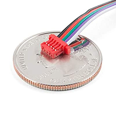 SparkFun Electronics Cable - 5 Pin 1mm Pitch - Breadboard Jumper: Toys & Games