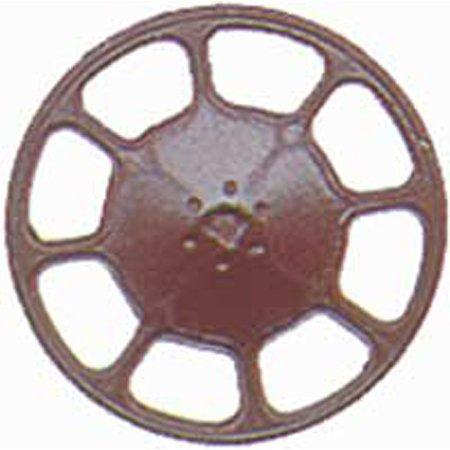 HO Brake Wheel, Modern/Boxcar Red (8) - Caboose Brake