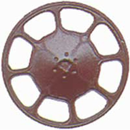 HO Brake Wheel, Modern/Boxcar Red (8)