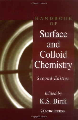Handbook of Surface and Colloid Chemistry, Second Edition Pdf