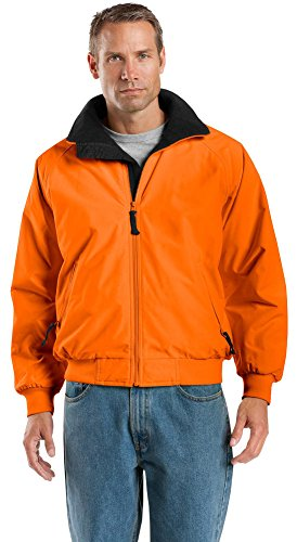 Port Authority Enhanced Visibility Challenger Jacket, Safety Orange/ Black, XXXXX-Large