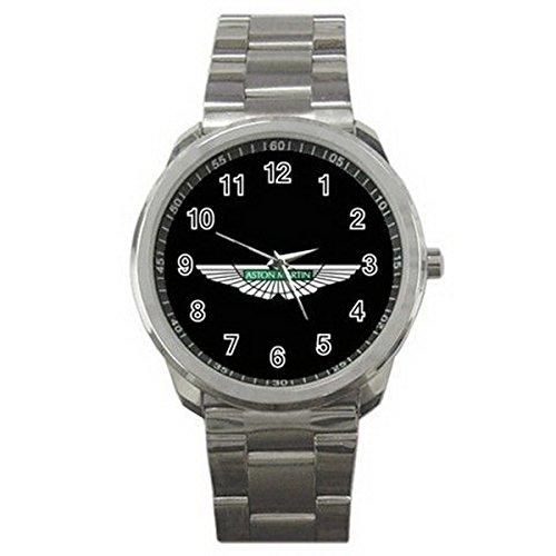 ADA089New Aston Martin Logo Sport Metal - Steel Stainless Aston Watch