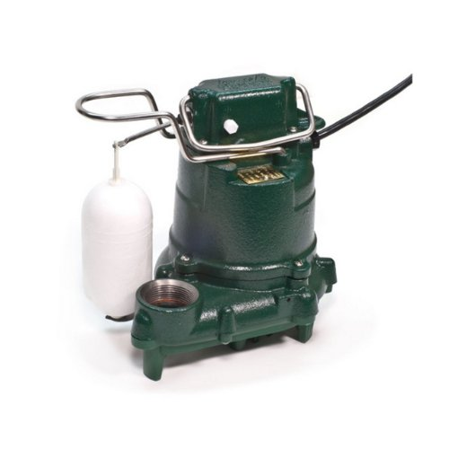 Zoeller 53-0016 115-Volt 0.3 Horse Power Model M53 Mighty-Mate Automatic Cast Iron Single Phase Submersible Sump/Effluent (Zoeller Submersible Pumps)
