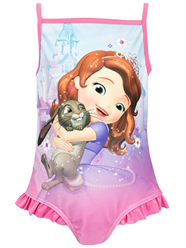 Disney Sofia the First Girls Sofia the First Swimsuit Age 2T