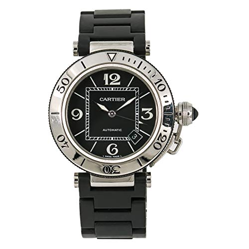 - Cartier Pasha Automatic-self-Wind Male Watch W3107702 (Certified Pre-Owned)