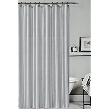 white and silver shower curtain. Iris Luxury Fabric Shower Curtain  Shimmering Textured Jacquard Cloth 70 x 72 Amazon com Avanti Linens Galaxy Silver Home