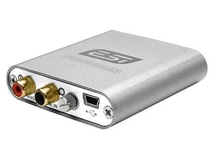 ESI Audiotechnik Phonorama USB Phono Preamp