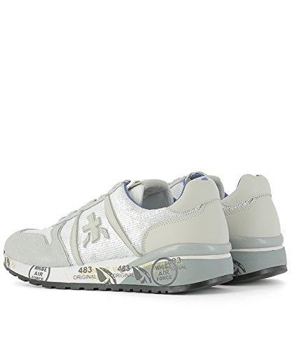 Premiata Sneakers Donna DIANE1422 Pelle Bianco