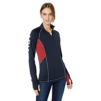 ARIAT Women's Lowell 2.0 1/4 Zipshirt at Women's Clothing store