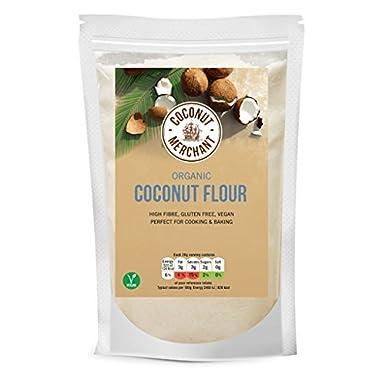 Coco Merchant orgánico Coco harina 500 g: Amazon.es: Alimentación y bebidas