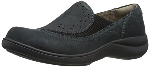 Aravon Women's Revsolace Flat,Black,9.5 D US