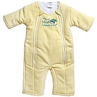 Baby Merlin's Magic Sleepsuit Microfleece - Yellow - 6-9 months