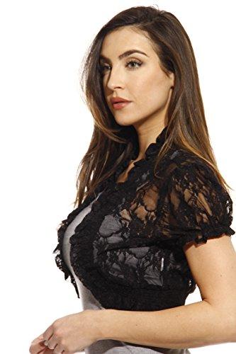 Buy black lace bolero jackets for evening dresses