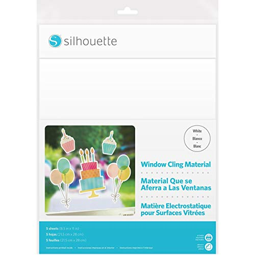 Cling-WHT Printable WINDW ()