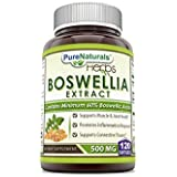 Pure Naturals Boswellia Extract 500 Mg 120 Softgels
