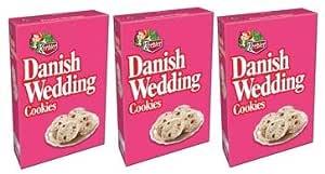 Keebler Danish Wedding Cookies, 10 Oz (Pack of 10)