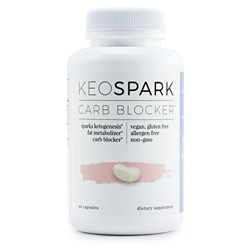 Calorie Blocker (KEOSPARK - Carb Blocker and Fat Metabolizer, Supports Optimal Energy, Fat Metabolism, and Ketogenesis)