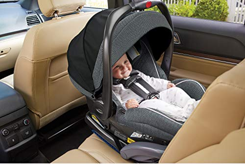 Graco SnugRide SnugLock 35 Platinum Infant Car Seat | Baby Car Seat, Grayson