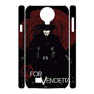 D-PAFD Cell phone Cases V for Vendetta Hard 3D Case For Samsung Galaxy S4 i9500