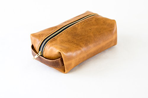 Horween Leather Dopp Kit by Sturdy Brothers