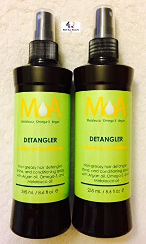MOA Melaleuca Omega-3 Argan Detangler Leave-In Conditioner (2 - Moa Stores