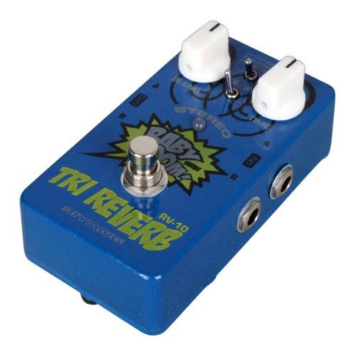 Biyang Rv-10 3-mode Stereo Reverb Guitar Effects Pedal Stereo-designed TRI Reverb