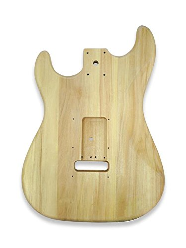 DIY Electric Guitar Kits for Stratcaster Electric Guitar, Bass Wood Body
