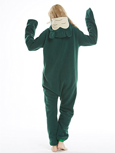 Unisex Adult Pajamas Christmas Costume Snorlax One Piece Pajamas Stitch  Onesies Cosplay 2f99ce3f9