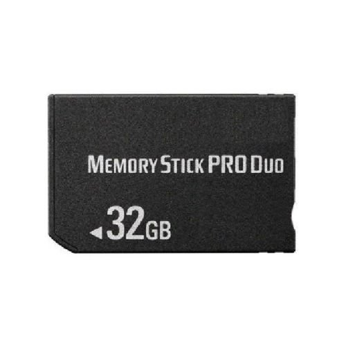32GB MS Memory Stick Pro Duo Card Storage for Sony PSP 1000/2000/3000 Game (Ms Pro Duo Model)