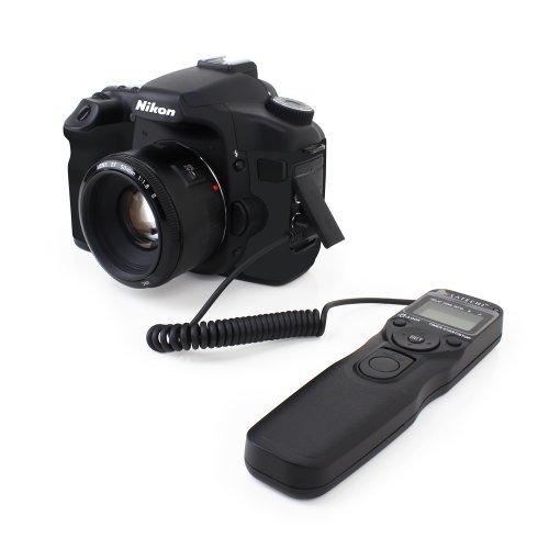 Satechi MTR-M Timer Remote Control for Nikon D90, D600, D610, D3100, D3200, D5000, D5100, D5200, D5300, D7000, D7100, P7700, P7800 SLR Cameras