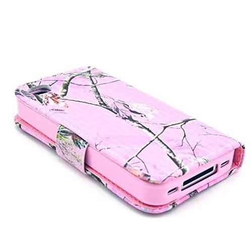 Yaobai-Cuir Coque Case Etui Coque étui de portefeuille protection Coque Case Cas Cuir Swag Pour Iphone 4s 4g