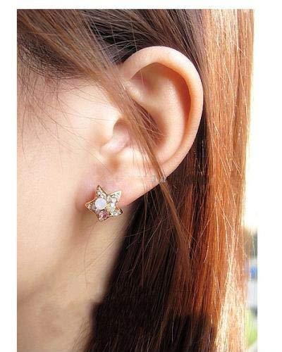 Nitlovely Beautiful Plan Pentagram Stud Earrings for Women Wholesale