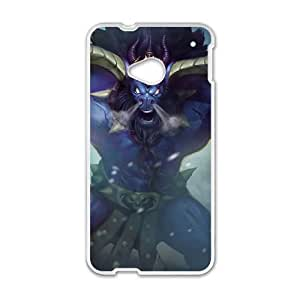 HTC One M7 Cell Phone Case White Alistar League of Legends 002 KQ3455397