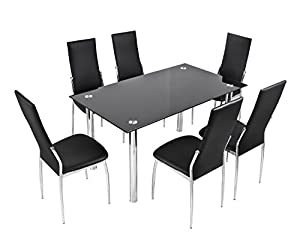chairs chrome high quanlity cheap dining table and chairs milan 6