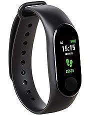 Kounga FitPro Tonic aktivitetsspårare med pulsmätare, stegräknare, kalorier och smart sömnband