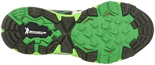 Running 4 Wave forestnightwhitebrightgreen Mujin Homme De Chaussures Mizuno Vert XnFB4Zf