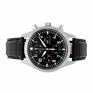 IWC Pilot's Chronograph automatic-self-wind mens Watch IW3717-01 (Certified Pre-owned)