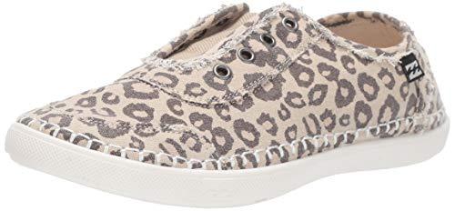 Billabong Women's Cruiser Sneaker, Cheetah, 10 Medium US