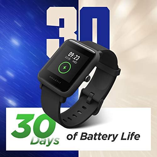 Amazfit Bip S Lite Smartwatch Ftiness Reloj Inteligente Deporte Pantalla Transflectiva Siempre Encendida Duración de la…