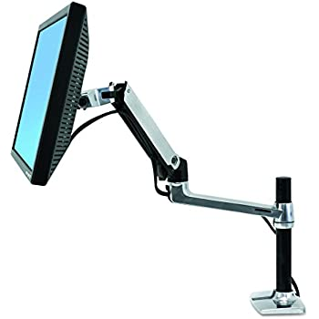LX Desk Mount LCD Arm, Tall Pole