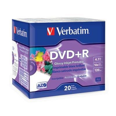 UPC 023942961222, DVD+r 4.7GB 16X Wht Inkjet 20P