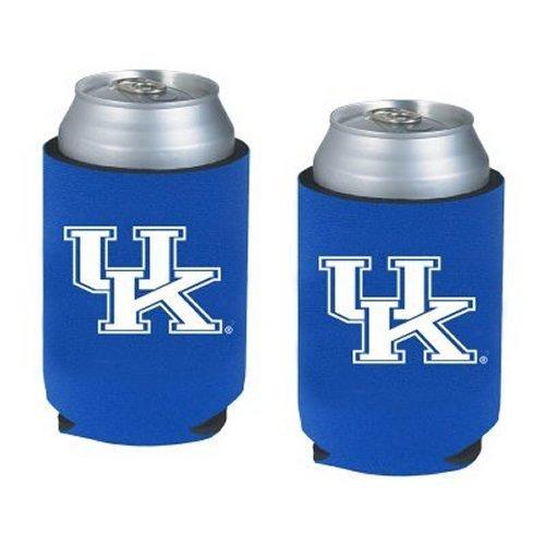 Wildcats Collapsible (NCAA Kentucky - Neoprene Pocket Coolies (2) | UK Wildcats Collapsible Beverage Insulators - Set of 2)