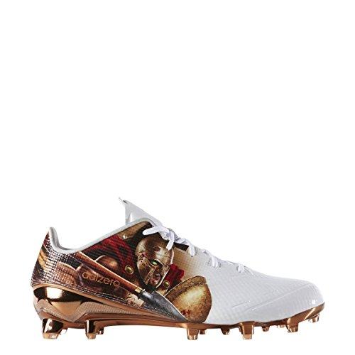 Adidas Adizero 5-5,0 Uncaged Heren Voetbal Cleat Spartan-witte Koper Metallic