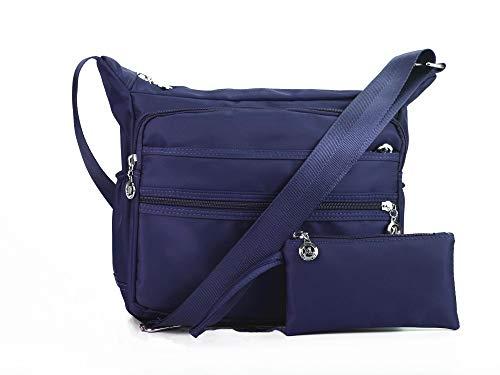 Nodykka Crossbody Bags for Women Purses and Handbags Satchel Messenger Shoulder Bag Nylon Travel Purse