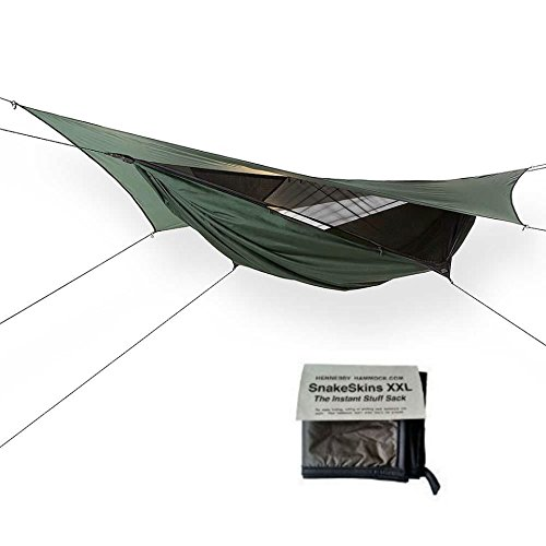 Hennessy Hammock EXPEDITION ZIP ASYM with SnakeSkins (Expedition Hammock)