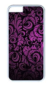 iPhone 6 Plus Case,VUTTOO iPhone 6 Plus Cover With Photo: Purple Style For Apple iPhone 6 Plus 5.5Inch - PC White Hard Case