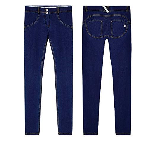 Seven Mankind Dojo All For (Jeans Woman Peach Push Up Hip Skinny Denim Pant for Women Boyfriend Jean for Women Elastic Grey Jeans)