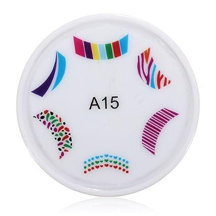 Amazon.com: (tipo A15) impresora arte de uñas almohadilla ...
