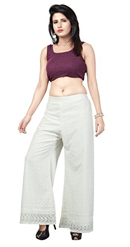 embroidery pants - 4