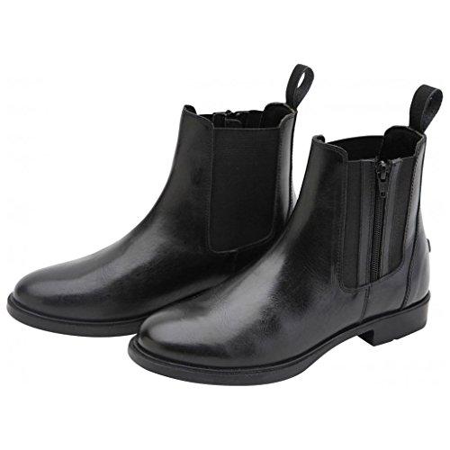 Horse Jodhpur Womens Boots Horka Chelsea Side Leather Show Genuine Zip Riding 4IzAq6w